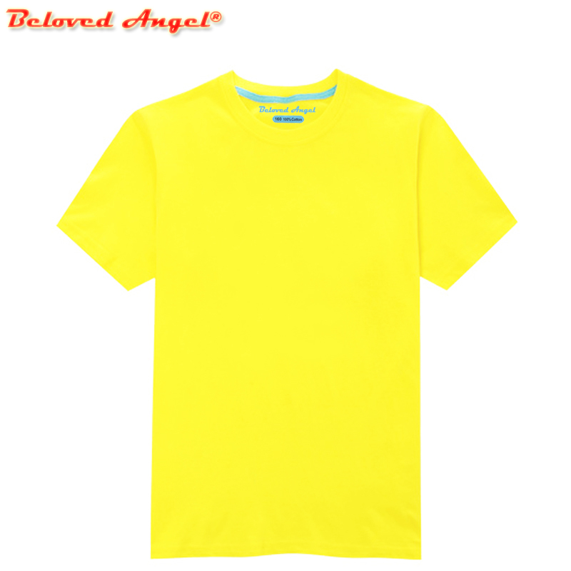 Toddler Child Summer Short Sleeve T-Shirt Kids Cotton Black Blue Yellow Red T Shirts For Baby Boy TShirt Girl Tops Tee 3-15 Year