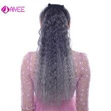AIYEE 22 удлиненные длинные волосы с двумя пластиковыми гребнями конский хвост доступны все цвета блонд Надувные вьющиеся волосы