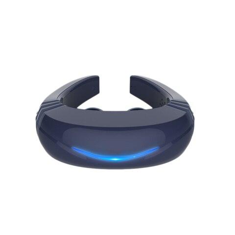 voz recarregavel inteligente massageador cervical vertebras muscular relaxamento alivio da dor acupuntura 6 modo massagem