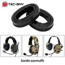 TAC-SKY silicone earmuffs for MSA SORDING TCI liberation headset TEA Hi-Threat Tier 1 tactical