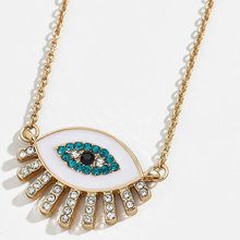 US $1.81 25% OFF|2019 New Jewelry Collection Minimalist Rhinestone Enamel Eye Pendant NecklacesFor Women Statement Necklace Party Necklace-in Pendant Necklaces from Jewelry & Accessories on AliExpress - 11.11_Double 11_Singles' Day