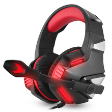 Wired Gaming Headsets Over Ear Headphones Earphone with Micr