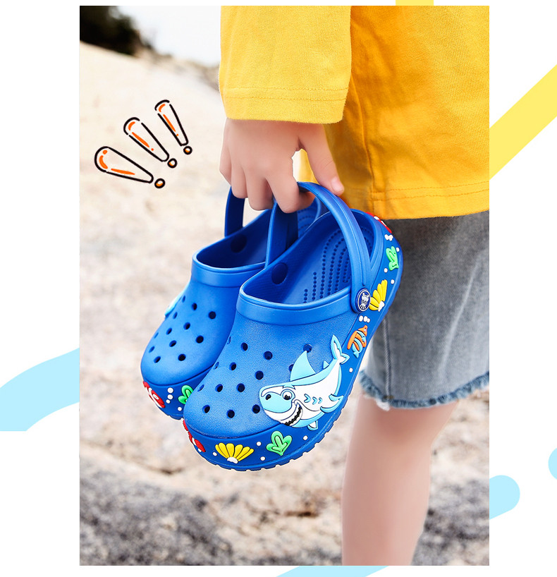 2017 New fashion children garden shoes children cartoon sandal babies summer slippers high quality kids garden children sandals (10)