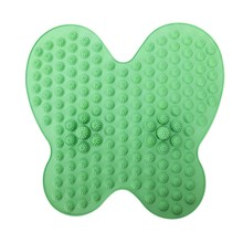Foot Massage Cushion Foot Massage Pad Shiatsu Blanket Yoga Mat Game Props Comfort Relaxing Blood Circulation green(China)