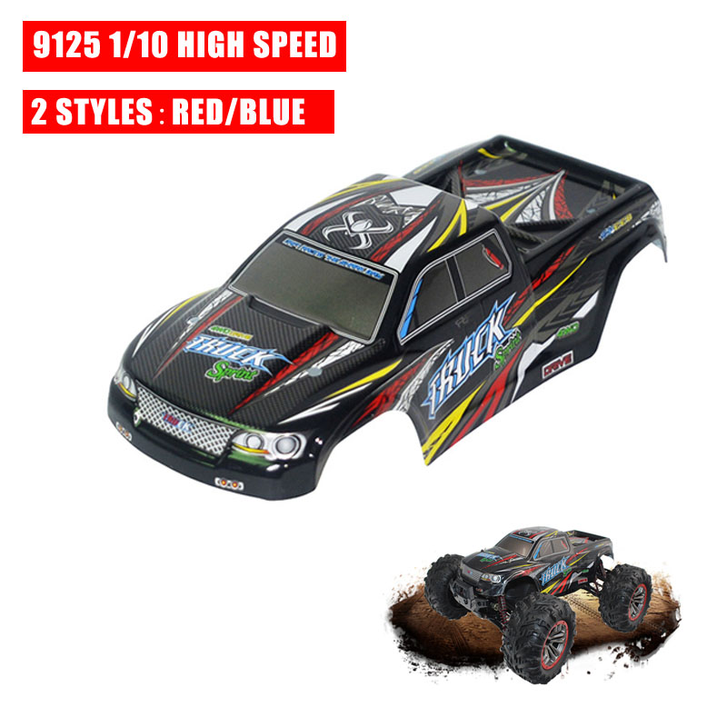 Newest XinleHong 9125 1/10 High Speed RC Car Body Shell Vehicle DIY Accessories Replacement Parts