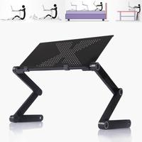 New Portable Folding Aluminum Alloy Laptop Computer Notebook Table Laptop Stand Desk Bed Tray Enjoy Fun In Bed Sofa Table