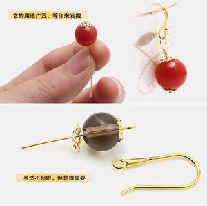 Принадлежности для сережек, застежки-крючки для сережек, аксессуары для самостоятельного изготовления ювелирных изделий, 100 шт., 17х20 мм