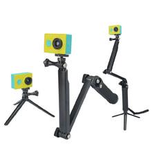 JRGK GoPro 3-Way Monopod ArmMount regulowany wspornik stojakowy uchwyt ręczny 3 Way statywy do Hero 4 3 + 3 SJ4000 SJ5000 akcesoria tanie tanio Z włókna węglowego Kamera wideo Działania Kamery 360 ° Kamera Wideo Specjalna Kamera Smartfony Elastyczny statyw Hero 2 3 3+ 4 SJ4000 SJ5000