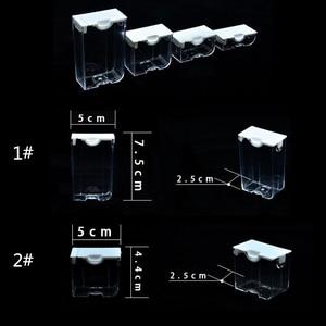 Image 4 - AZQSD contenedores para pintura de diamantes mosaico, accesorios, joyería a cuadros, bordado de diamantes, Caja de almacenamiento transparente