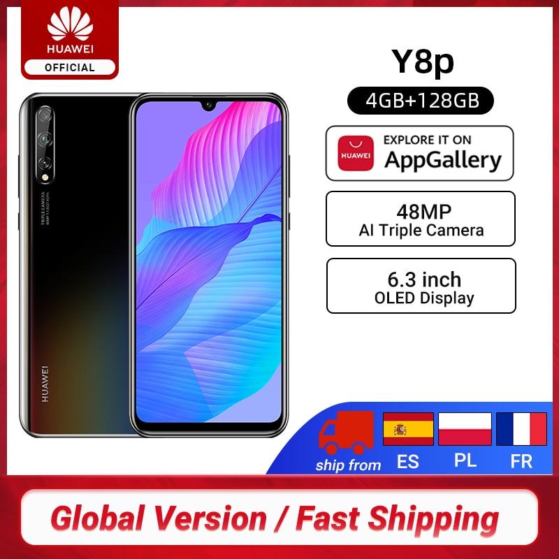 Новая глобальная версия Huawei Y8p смартфон 4 Гб 128 6,3