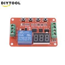 Красный цифровой оконный регулятор напряжения dvb01/измерение