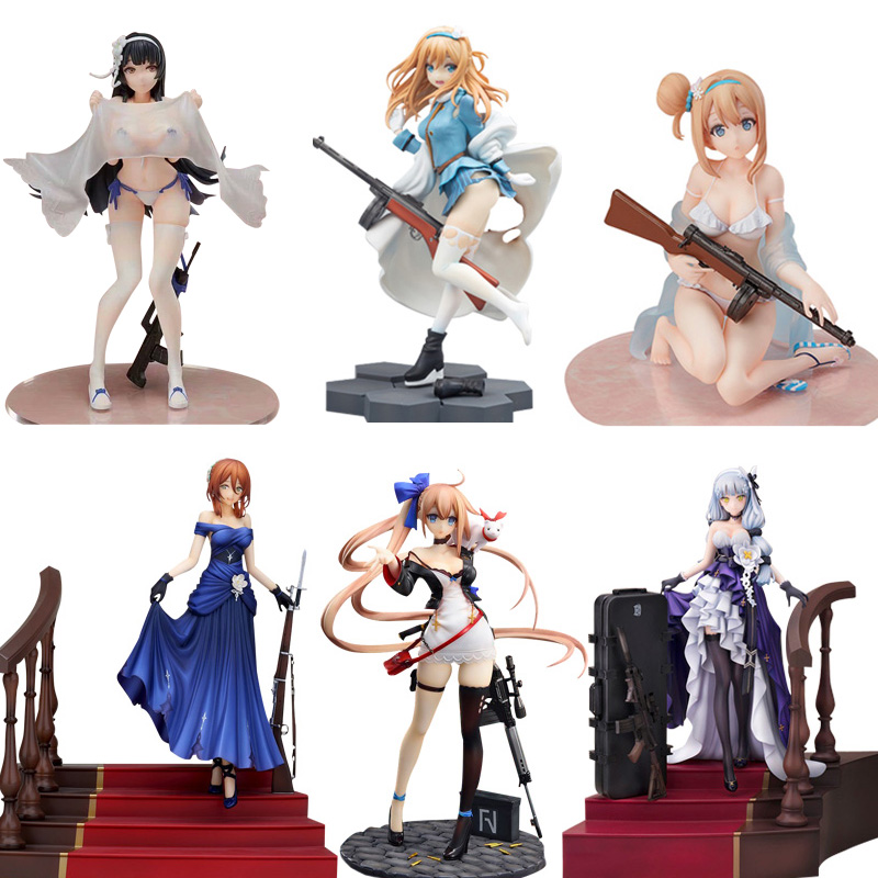 Girls Frontline FAL Hobby Max Springfield M1903 HK416 KP-31 Sexy Girls Action Figure Adult Action Figures Toys Anime Figures Toy