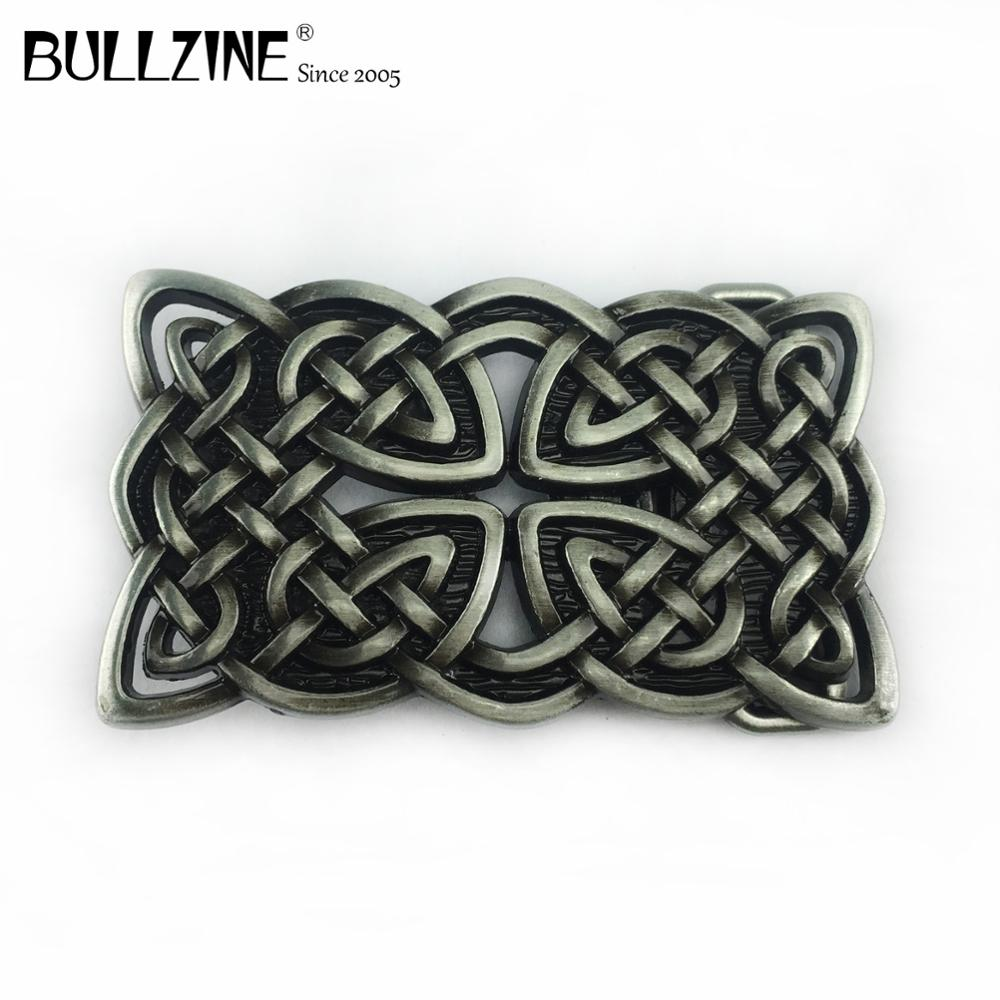 New Enamel Round Celtic Cross Vintage Belt Buckle Biker Gothic Punk