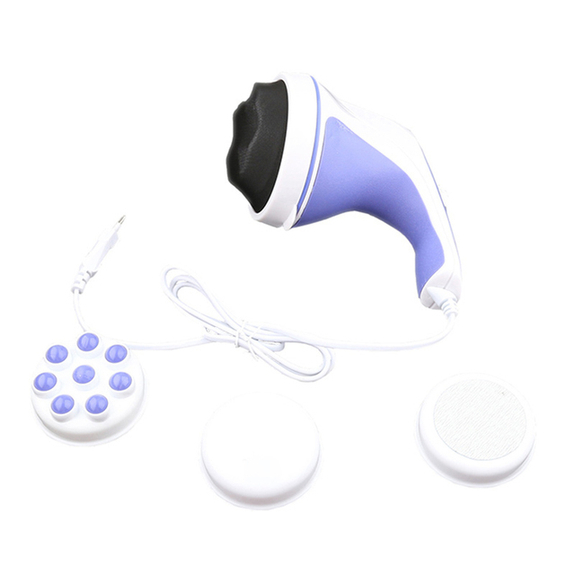 5 Headers Spin Body Massager Relax Spin Tone Slimming Lose Weight Burn Fat Full Body Massage Device 2
