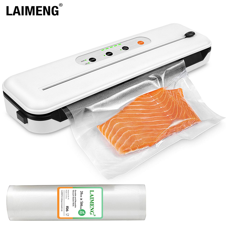 LAIMENG New Vacuum Packing Machine With Cutter For Food Storage With Vacuum Bags  Vacuum Roll S278