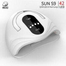 NOQ Sun S9 светодиодный светильник для ногтей с 42 шт. светодиодный s Max84W УФ светодиодный светильник для маникюра Сушилка для ногтей сушки лака для ногтей инструменты для дизайна ногтей