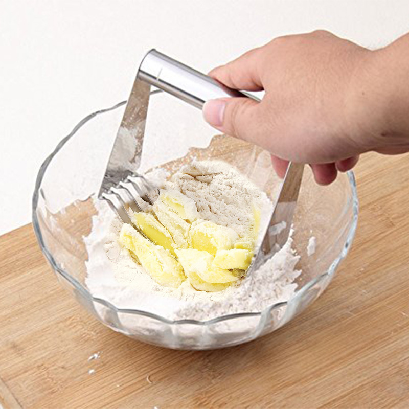 Stainless Steel Flour Mixer Butter Cutter Baking Powder Oil Noodle Noodle Press