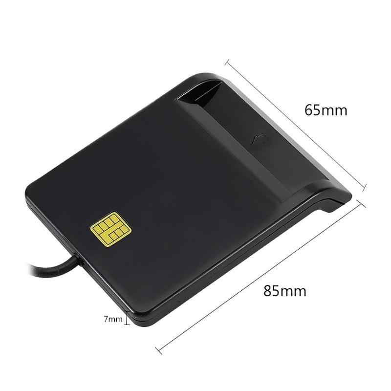 USB akıllı kart okuyucu DNIE ATM CAC IC kimlik SIM kart okuyucu Linux hafıza kartı aksesuarları