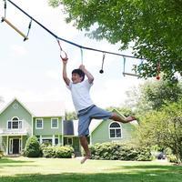 Kinder Klettern Ninja Seil Ninja Linie Hindernis Training Ausrüstung Kinder Spaß Slack Linie Outdoor kinder Sport Ausrüstung|Accessoires|Sport und Unterhaltung -