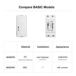 Image 5 - A buon mercato 3PCS SONOFF BASICR3 Wifi Smart Switch FAI DA TE Modulo di 10A Timer di Controllo A Distanza Senza Fili Interruttore Della Luce Per Smart Home, Casa Intelligente di Automazione