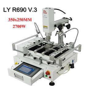 LY Rework-Station Working-Area Solder BGA Hot-Air V.3 2700W 350X250MM 3-Zones Touch-Screen