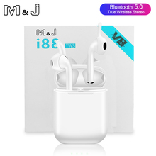 Original i88 TWS Bluetooth 5.0 Earphone Mini Wireless stereo Touch Earbuds Earph