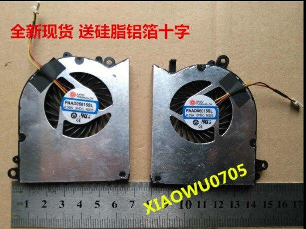 Laptop Mới GPU & CPU Quạt Làm Mát Cho MSI GS60 GS60 PAAD06015SL