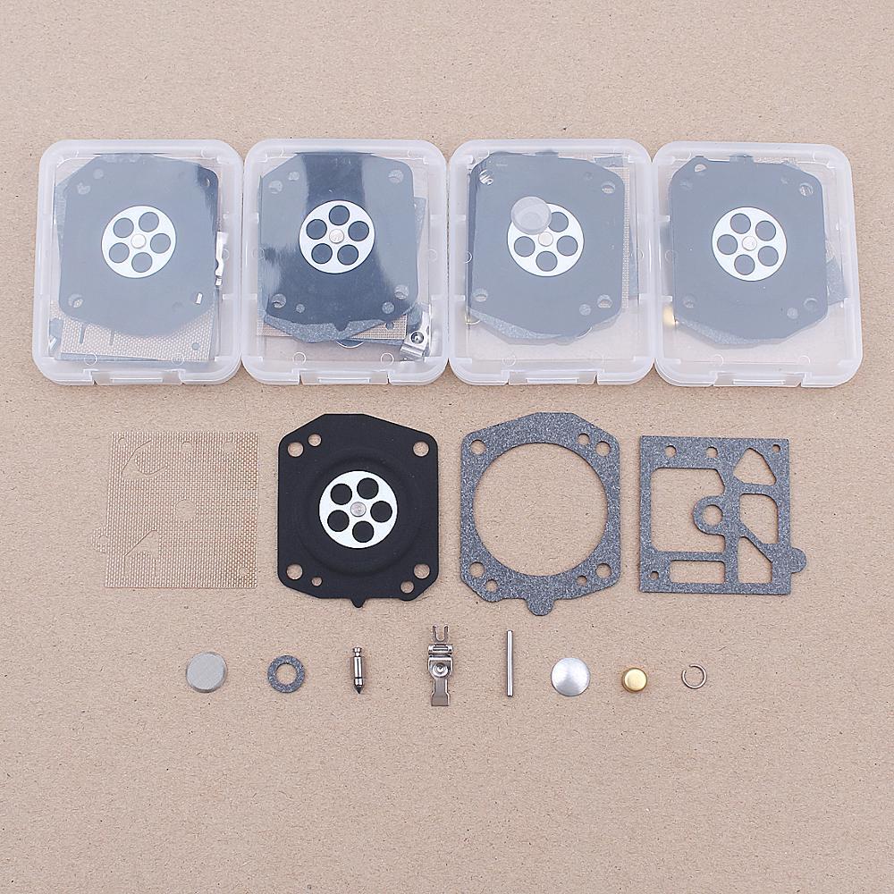 5pcs/lot Carburetor Repair Kit For Husqvarna 42, 44, 133, 234, 238, 242, 246, 254, 340, 345, 346, 350, 351, 353 Walbro K22-HDA