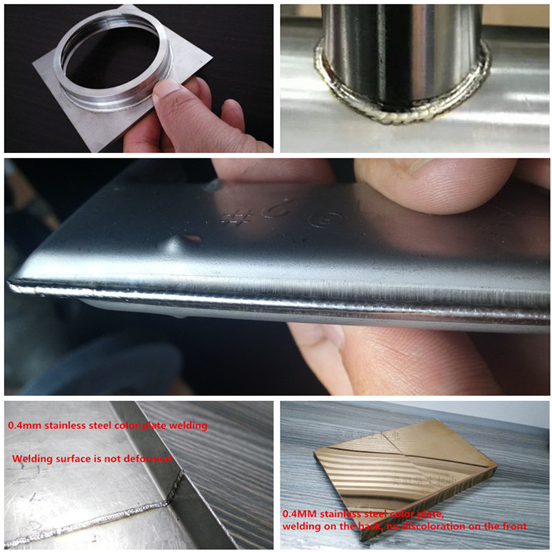 Welding Cold Tig Arc 5KVA Flange DC Stainless Steel 4 Welder Carbon Plate Thin Use Machine Weld Pipe Double Steel Inverter