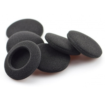5Pairs 60mm/2.4 Replacement Foam Earpads Cushion For Logitech H600 H330 H340/Aiwa HP-CN5/Labtec Axis 502 headset Black image