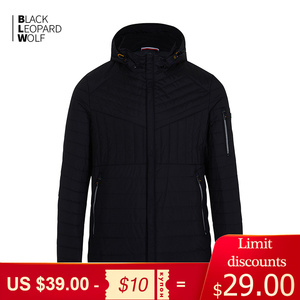 Blackleopardwolf 2020 new pure cotton clothing, spring thin cotton jacket, hooded coat DY-773