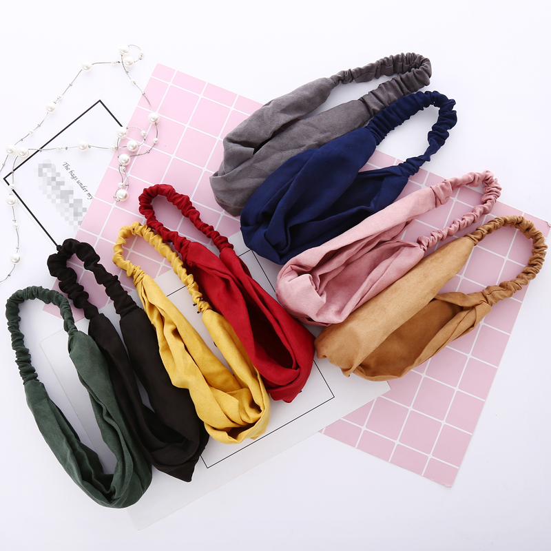 ChenYan Lady Elastic Headband Women New Headbands Girl Lovely Hairband FD9
