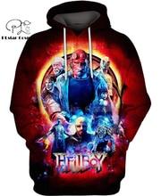 PLstar Cosmos fantasy supernatural Hellboy Dead 3d hoodies/shirt/Sweatshirt Winter autumn funny Harajuku Long sleeve streetwear