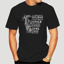 Si no les Believe que tienen alma, no les miraste a los ojos, T-Shirt-0034D de mujer