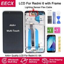 Pantalla LCD IPS Original para Xiaomi Redmi 6, montaje de Digitalizador de Panel táctil con Marco, 6A