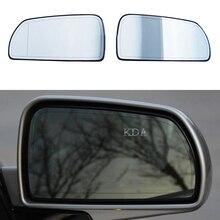 Auto Links Rechts Erhitzt Flügel Weiß Hinten Spiegel Glas Keine Anti glare für Cadillac SLS Sevilla 2006 2007 2008 2009 2010 2011 2012