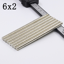 100/500/1000Pcs 6x2 Neodymium Magnet…