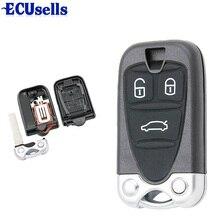 3 кнопки дистанционного управления Корпус ключа автомобиля чехол Брелок для ALFA ROMEO 159 Brera 156 Spider