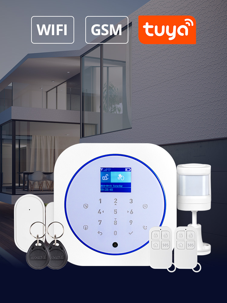 Towode Smart Home Security Alarm System WiFi GSM Wireless 433MHz Tuya APP Android Android