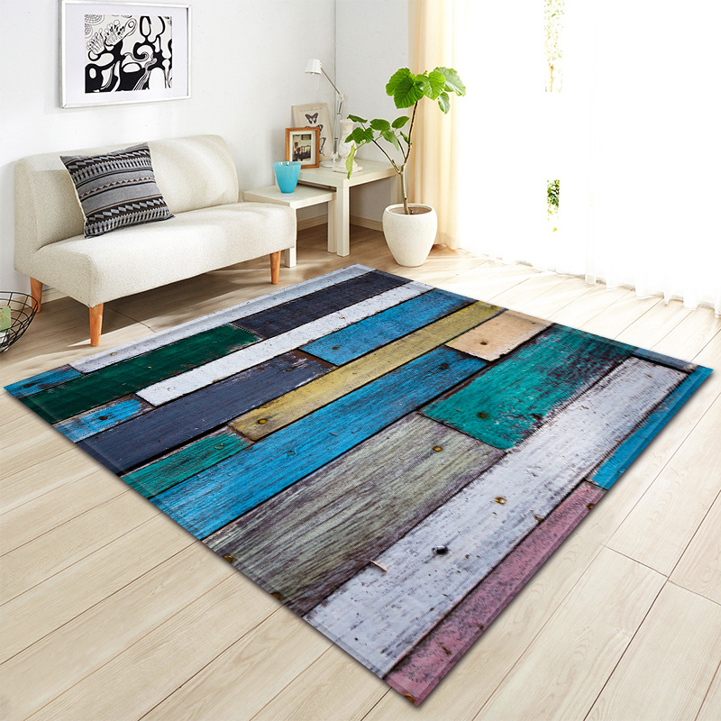 Nordic Living Room Carpet 3D Pattern Children Rug Kids Room Decoration Large Carpet Home Hallway Floor Rug Bedroom Bedside Mat