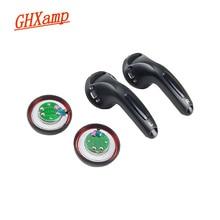 Ghxamp MX500 S500イヤホンスピーカーユニット500オームベリリウム膜フルレンジイヤーピースドライバ102.33dB修理セット2pc