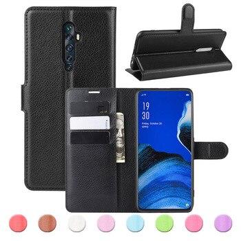 Перейти на Алиэкспресс и купить Силиконовый + кожаный чехол на OPPO Realme X50 Pro 5G C2 6S 5i X2 XT X X50m чехлы бумажники чехол-книжка для Realme 3 5 6 чехол противоударный