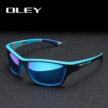 نظارات شمسية من OLEY مستقطبة للرجال نظارات شمسية للقيادة في الهواء الطلق للرجال تصميم علامة تجارية فاخرة شعار مخصص YG202