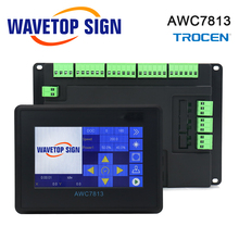 Trocen AWC7813 AWC708S Co2 Laser Controller System for Co2 Laser Engraving Cutting Machine Replace 7AWC708C Lite ruida Leetro