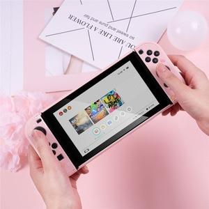 Image 1 - מקרה עבור מתג Nintendo NS שמחה קון מגן כיסוי מסך מגן סרט
