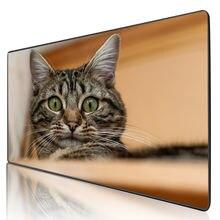 Mairuige большой коврик для мыши милый кот аксессуары компьютерной