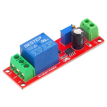 цена на 1 PCS NE555 Timer Switch Adjustable Module Time Delay Relay Module DC 12V Delay Relay Shield