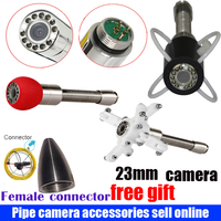 23mm Under Water Sewer Drain Pipe Wall Inspection Camera Replacement With 12pcs LED Lights for wopson bestwill camera