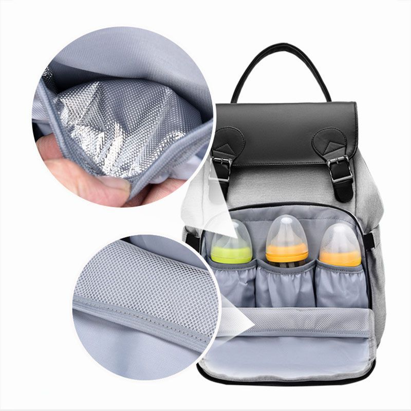Lequeen Fashion Mummy Maternity Nappy Bag Brand Large Capacity Baby Bag Travel Backpack Designer Nursing BagS For Baby Care 1