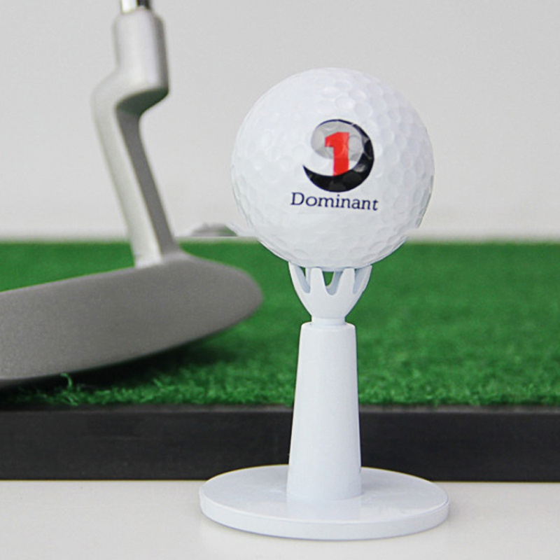 Adjustable Golf  Range Tees White  Rubber Golf Practice Tees Golf Accessories 2pcs/pack*